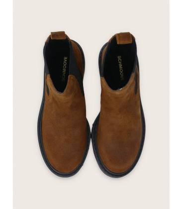 Schmoove MIKE CHELSEA OIL SUEDE - CHESTNUT